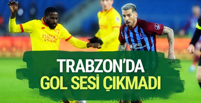 Trabzonspor - Göztepe maçı sonucu ve geniş özeti