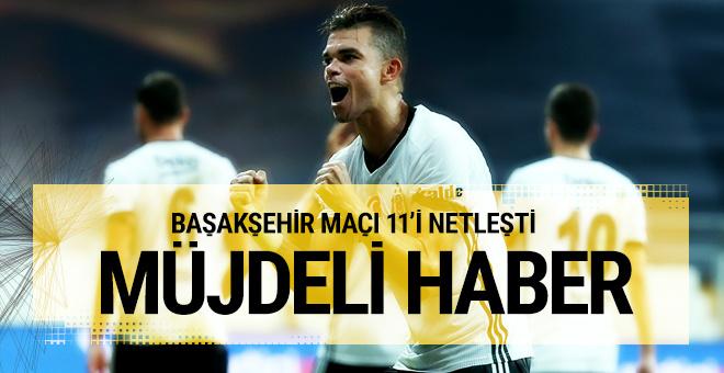 Beşiktaş'ın Başakşehir 11'i! Pepe müjdesi...