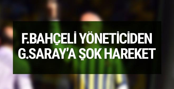 Fenerbahçe yöneticisinden şok hareket!