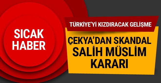 Çekya'dan skandal Salih Müslim kararı!