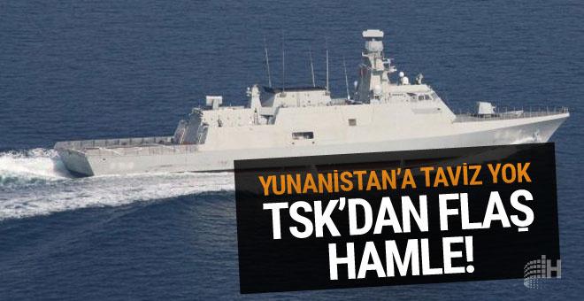 TSK'dan Yunanistan'a gözdağı