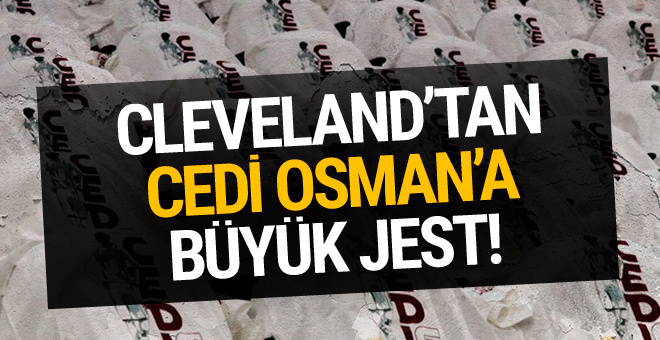 Cleveland taraftarlarına Cedi Osman forması dağıtıldı