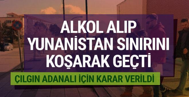 İzinsiz Yunanistan'a geçen Türk vatandaşı için karar