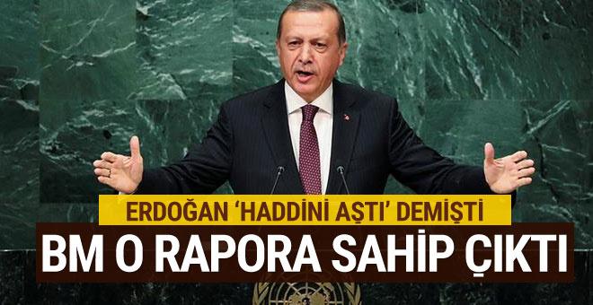 BM, Türkiye'nin eleştirdiği rapora sahip çıktı