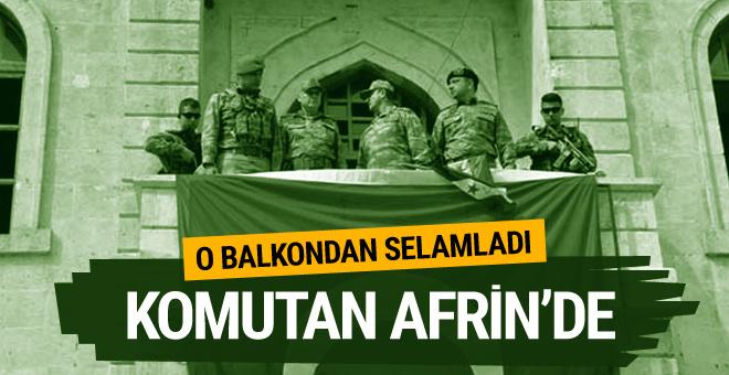 Korgeneral İsmail Metin Temel, Afrin'de