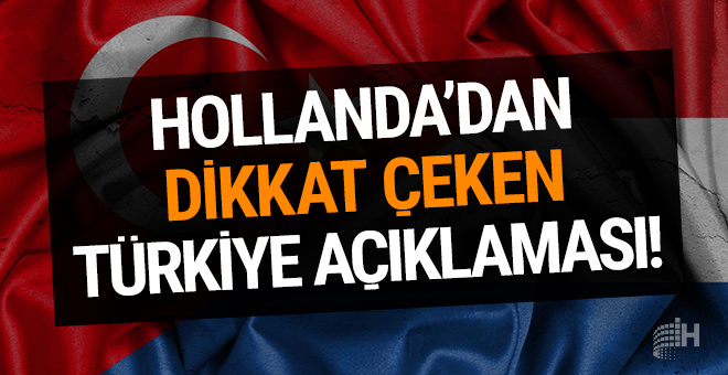 Hollanda'dan Türkiye açıklaması! Mülteci anlaşmasında...