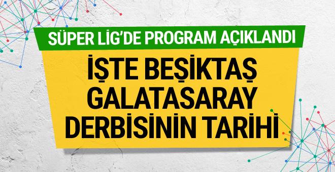 Galatasaray-Beşiktaş derbisinin tarihi belli oldu!
