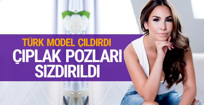 Türk model Sıla Şahin'in çıplak fotoğrafları sızdırıldı