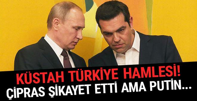 Küstah Türkiye hamlesi! Çipras şikayet etti ama Putin...