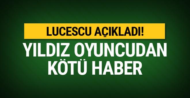 Mircea Lucescu'dan Cengiz Ünder açıklaması