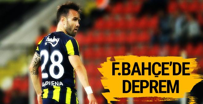 Fenerbahçe'de deprem! Valbuena'dan ayrılık mesajı