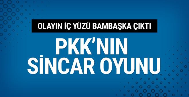 PKK'nın Sincar oyunu! Olayın iç yüzü farklı