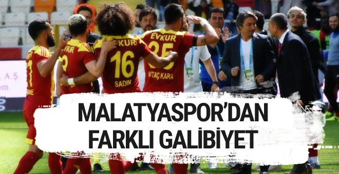 Yeni Malatyaspor-Gençlerbirliği golleri ve özeti