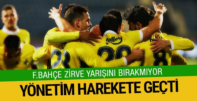 Fenerbahçe zirve yarışını bırakmıyor