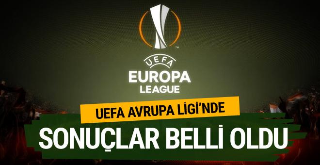 UEFA Avrupa Ligi'nde son 16 tur ilk maçları tamamlandı
