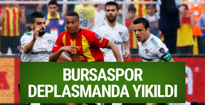 Göztepe Bursaspor maçı golleri ve özeti