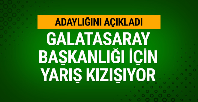 Mustafa Cengiz başkan adaylığını açıkladı