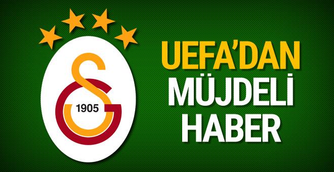 UEFA'dan Galatasaray'a iyi haber