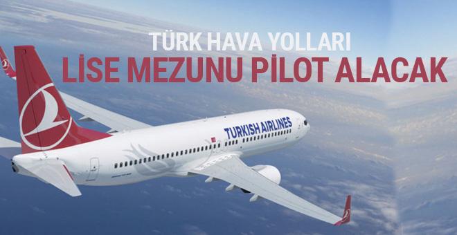 Türk Hava Yolları en az lise mezunu pilot alıyor!