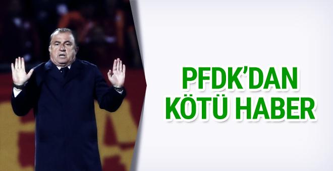 Fatih Terim'e PFDK şoku!