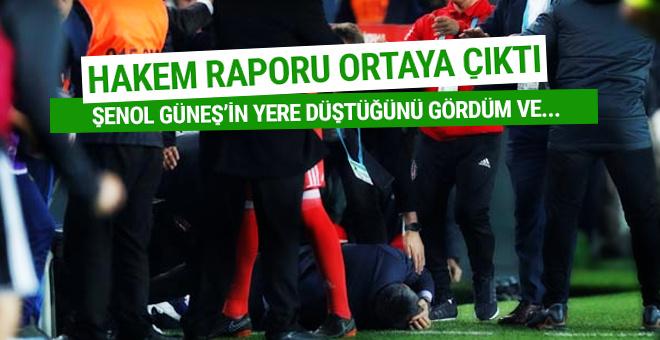 Fenerbahçe Beşiktaş derbisinin hakem raporu ortaya çıktı