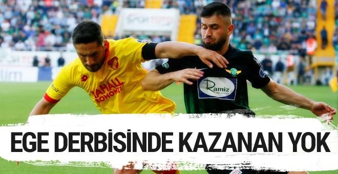Akhisaspor Göztepe maçı golleri ve sonucu