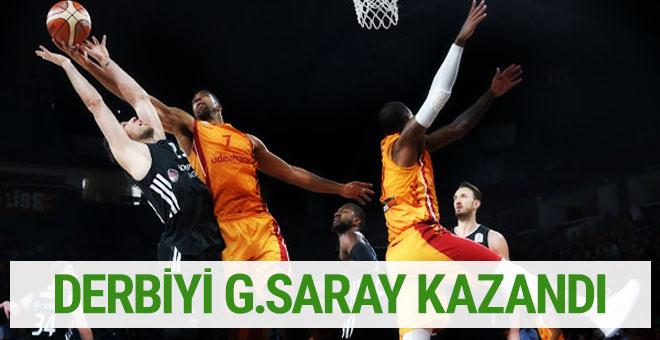 Galatasaray Beşiktaş maçı sonucu ve özeti