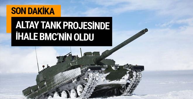 Altay tankı ihalesi BMC'nin oldu