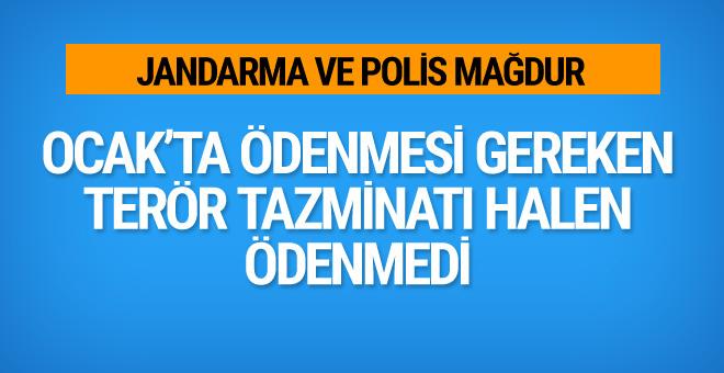 Emniyet ve Jandarma personeli mağdur! Terör tazminatları ödenmiyor