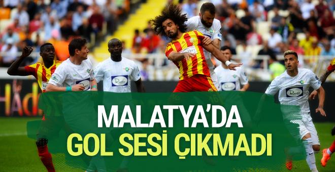 Yeni Malatyaspor Akhisarspor maçı sonucu ve özeti