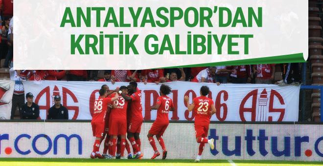 Kardemir Karabükspor Antalyaspor maçı golleri ve sonucu