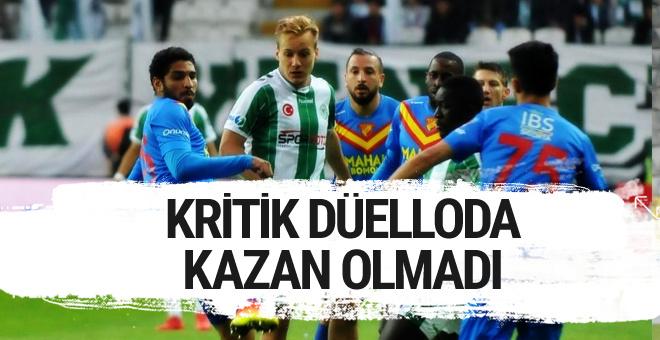 Konyaspor Göztepe maçı golleri ve özeti