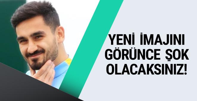 İlkay Gündoğan yeni imajıyla dikkat çekti