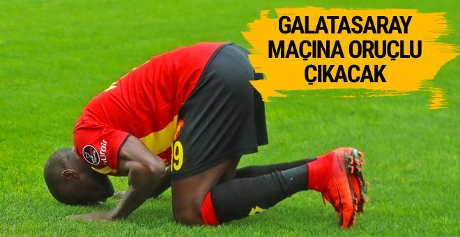 Galatasaray maçına oruçlu çıkacak