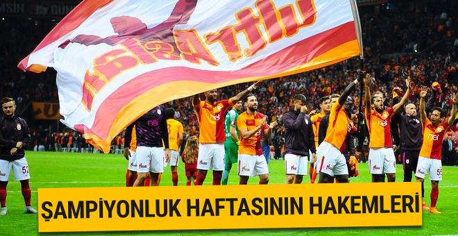 Süper Lig'de son hafta hakemleri belli oldu