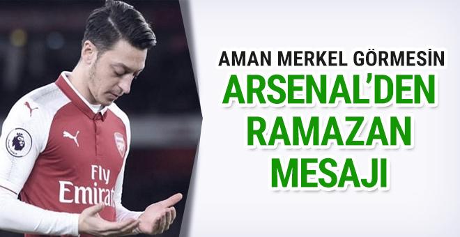 Arsenal Ramazan ayını Mesut Özil'le kutladı