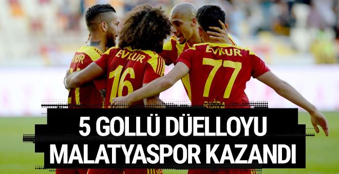 Malatyaspor Kayserispor maçı sonucu ve özeti