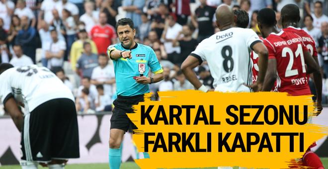Beşiktaş Sivasspor maçının sonucu ve özeti