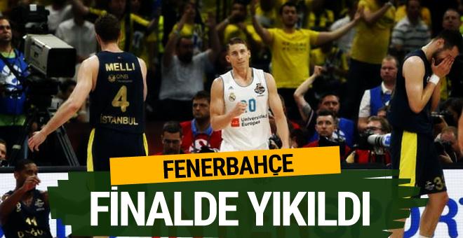 Fenerbahçe Doğuş finalde kaybetti!