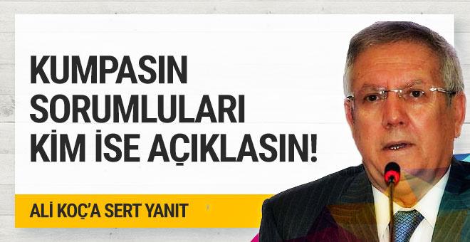 Aziz Yıldırım'dan Ali Koç'a sert cevap!