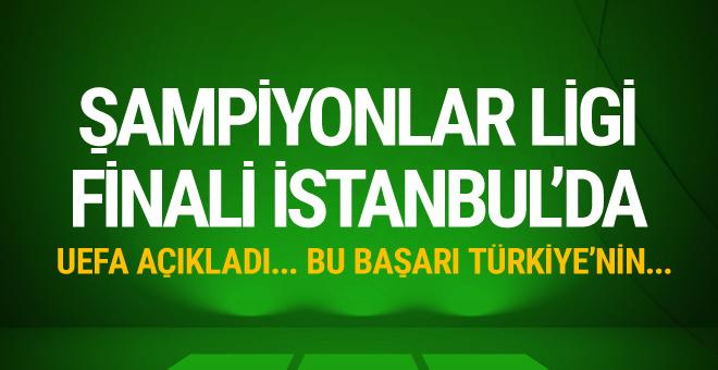2020 Avrupa Şampiyonlar Ligi finali İstanbul'da