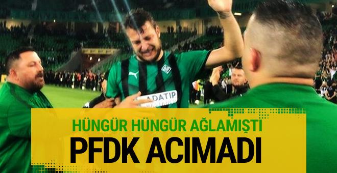PFDK Batuhan Karadeniz'e 3 maç ceza verdi!