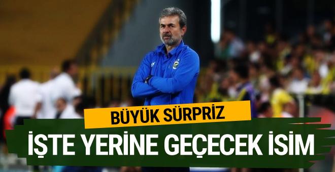 Fenerbahçe Aykut Kocaman'ın alternatifini buldu