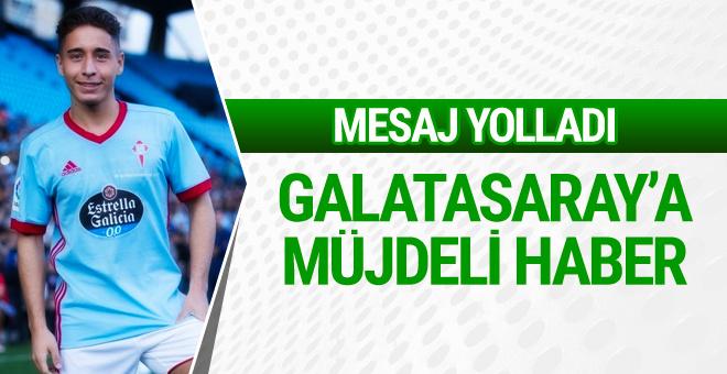 Emre Mor Galatasaray'a haber yolladı