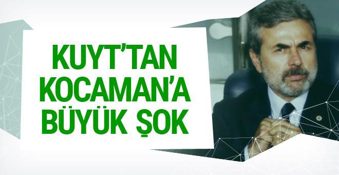 Dirk Kuyt'tan Aykut Kocaman'a büyük şok!