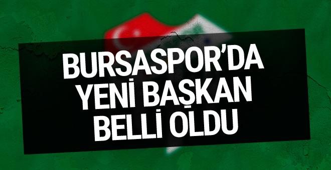 Bursaspor'da Ali Ay yeniden başkan oldu