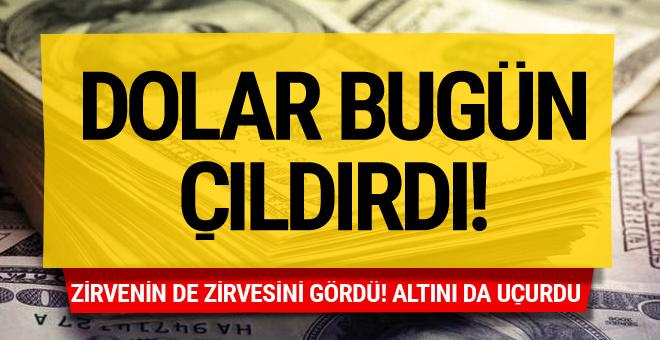 Dolar resmen çıldırdı! Enflasyon açıklandı dolar bir anda...