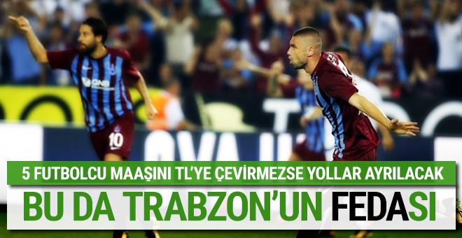Trabzonspor maliyeti düşürmek için harekete geçti