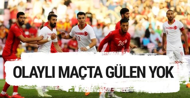 Türkiye Tunus maçı golleri ve geniş özeti