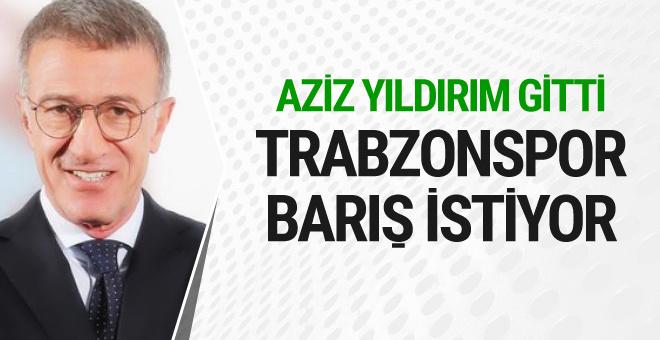 Aziz Yıldırım gitti Ahmet Ağaoğlu F.Bahçe'ye barış mesajı verdi